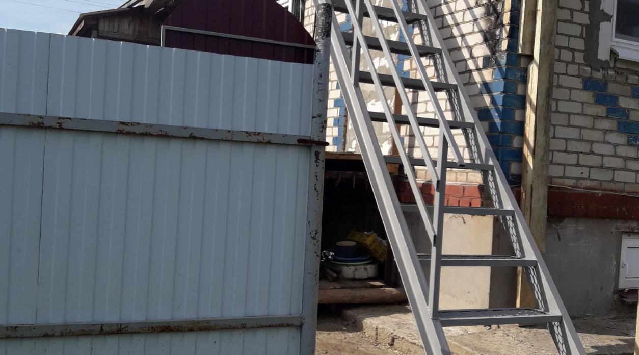 Лестницы в пром. зонах