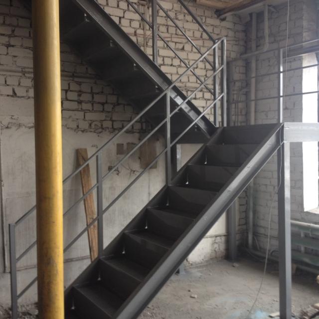 Лестница в хозблоке